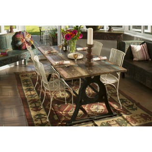 Family Dining Iron Table Set